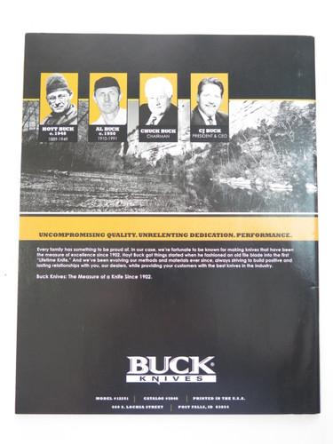 2006 BUCK DEALER KNIFE CATALOG PRICE LIST BOOK FIXED FOLDING 110 124 119