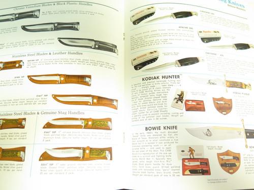 Vtg 1977 Case Dealer Catalog 1978 Price List Book Fixed Folding Pocket Knife