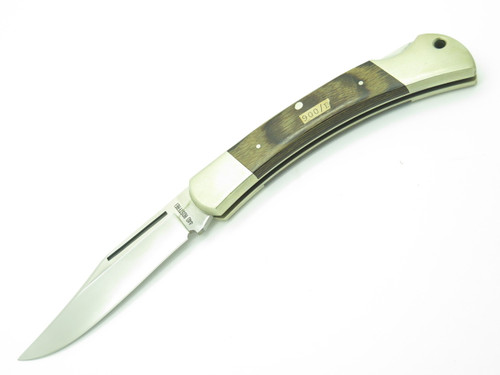 VINTAGE GERMAN ROSTFREI 900B 440 STAINLESS FOLDING HUNTER LOCKBACK POCKET KNIFE