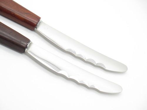 Lot Of 2 Vtg Janus Friedr Herder Constant Spade Solingen Germany Steak Knife