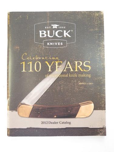2012 BUCK DEALER KNIFE CATALOG PRICE LIST BOOK FIXED FOLDING 110 184 124 119