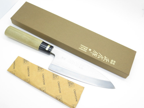 MASAHIRO JAPANESE SEKI JAPAN 165mm DEBA SUSHI CHEF FISH KITCHEN CUTLERY KNIFE