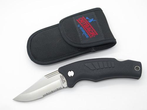 VTG SCHRADE USA SG7 OUTBACK OLD TIMER FOLDING HUNTER LOCKBACK KNIFE MINT