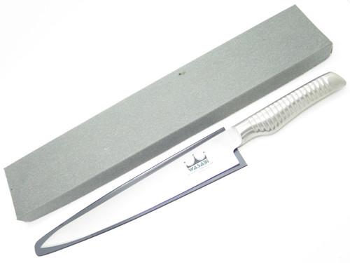 """Wasabi Seki Japan 9"""" Japanese Kitchen Sashimi Knife By Yoshikin Global Maker"""
