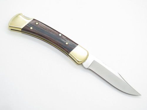 2005 BUCK 110 LIMITED EDITION POST FALLS OPENING FOLDING HUNTER LOCKBACK KNIFE