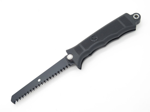Sog Revolver Robbie Roberson Black Swivel Saw And Knife With Sheath