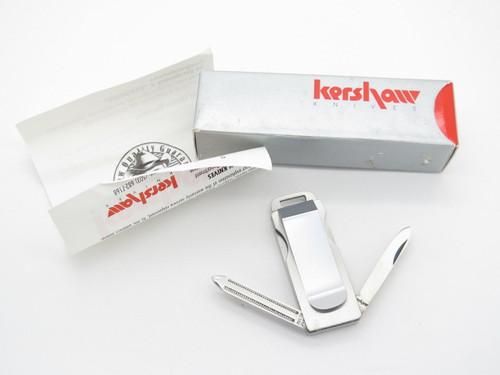 KERSHAW KAI PAR72 SEKI JAPAN GOLF TOOL MONEY CLIP GENTLEMAN FOLDING POCKET KNIFE