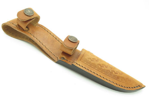 Case XX Twin Finn Double Leather Fixed Blade Hunting Knife Sheath 16-5 M3