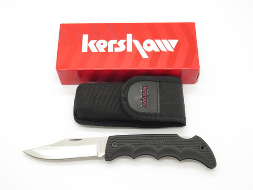 Kershaw 1060 Black Horse II Hunter Folding Hunting Lockback Knife & Sheath