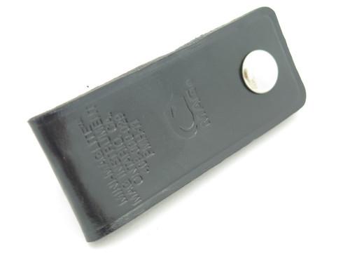 Mini Maglite Mag Light AA Flashlight Leather Holster Sheath Belt Pouch Case