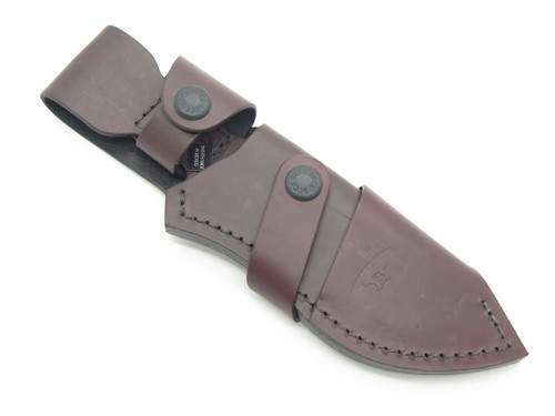 Buck 488 087 085 Ergo Hunter Pro Brown Leather Fixed Blade Guthook Knife Sheath