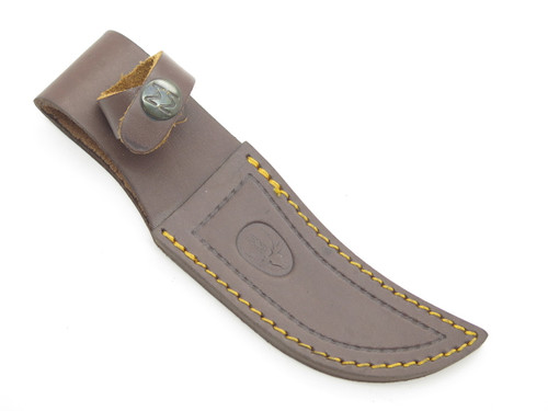 Muela Spain Brown Leather Sheath Small Skinner Hunting Fixed Blade Knife Case