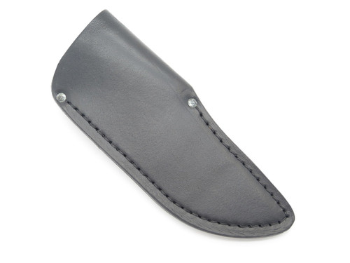BUCK 922 GUIDE SKINNER KNIFE SHEATH HUNTER BLACK LEATHER FIXED BLADE