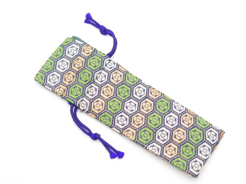Mcusta Seki Japan Nishijin Japanese DEC2 Cloth Pouch Folding Pocket Knife Sheath