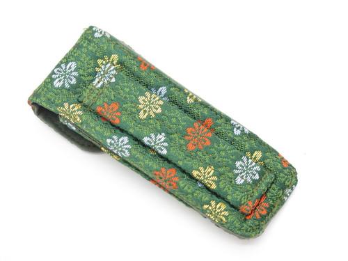 Mcusta Seki Japan Nishijin Japanese DEC1 Cloth Pouch Folding Pocket Knife Sheath