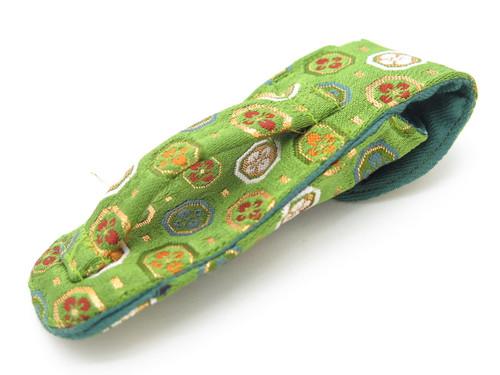MCUSTA SEKI JAPAN NISHIJIN JAPANESE DEC0 CLOTH POUCH FOLDING POCKET KNIFE SHEATH