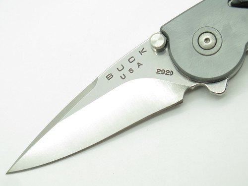 Buck 292BFSLC 292 Impulse Rush Custom Buffalo Horn Folder Folding Pocket Knife