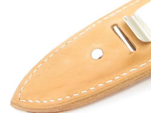 "Vtg 1977 AG Russell Sting II Special Edition Oak Leaf 8"" Large Dagger Boot Knife"