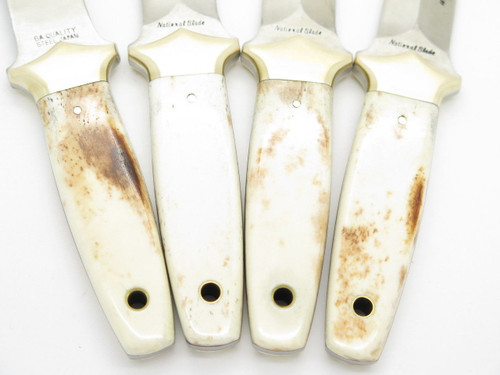 National Blade Parker Assassin AUS-6A Fixed Dagger Boot Knife Seki Japan NOS