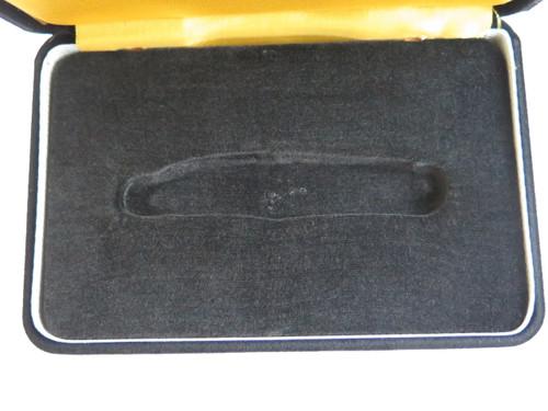 Vtg Japan Black Velvet Display Case Gift Box For Whittler Folding Pocket Knife