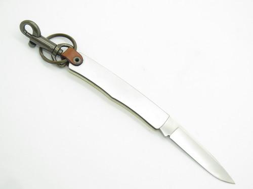 Ranger Outdoor Sakai Seki Japan Key Ring Folding Pocket Knife Pheasant Scrimshaw