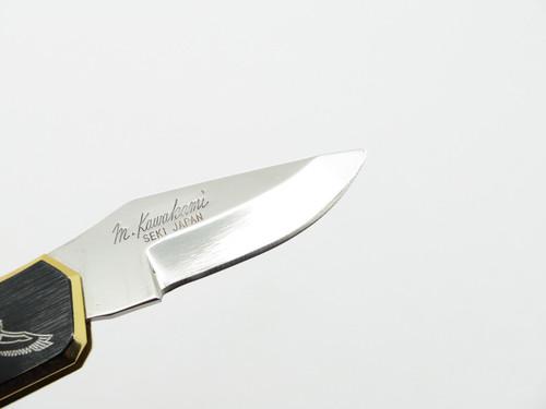 Vtg Condor 88S Hoffman Seki Japan Black Gentleman Folding Lockback Pocket Knife