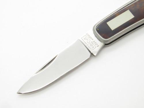 KAI CUT KERSHAW 5300 SEKI JAPAN TORTOISE SMALL GENTLEMAN FOLDING POCKET KNIFE