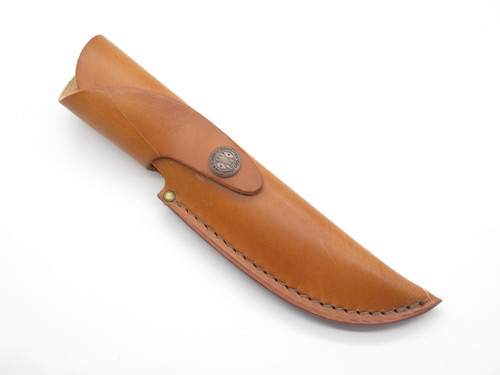 "Case XX 323-5 Brown Leather Fixed 5"" Long Blade Hunting Knife Sheath"