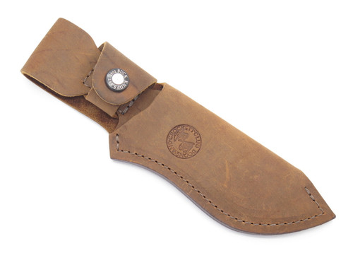 Buck 488 087 085 Ergo Hunter Pro B&C Distressed Leather Fixed Blade Knife Sheath
