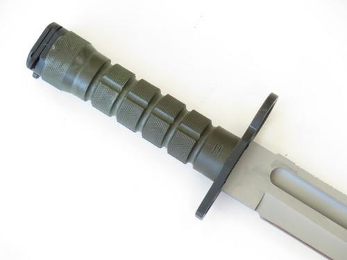 1996 BUCK 188 CIVILIAN BAYONET SURVIVAL FIXED BLADE COMBAT BOWIE KNIFE & SHEATH