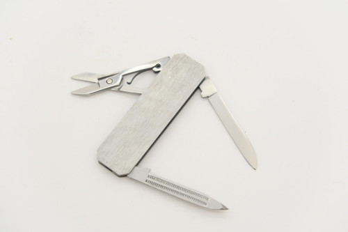 LOT OF 8 UNFINISHED SEKI JAPAN STAINLESS GENTLEMAN LOBSTER FOLDING POCKET KNIFE