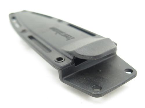 KERSHAW ZYTEL FIXED BLADE DAGGER KNIFE SHEATH AND POCKET CLIP