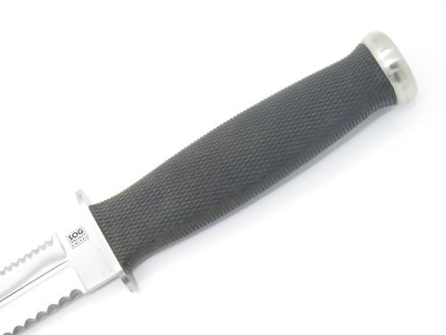 Vtg SOG Specialty S25 Seki Japan Desert Dagger Fixed Blade Knife & Sheath
