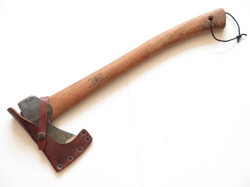 "GRANSFORS BRUKS 418 SWEDEN 18.75"" HUNTERS AXE WOOD FOREST HATCHET KNIFE"