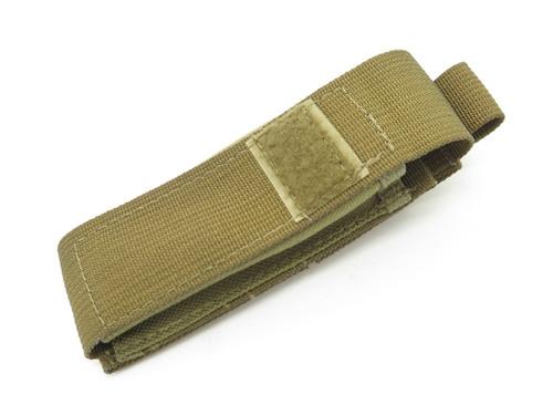 BENCHMADE USA GREEN NYLON FOLDING TACTICAL POCKET KNIFE SHEATH