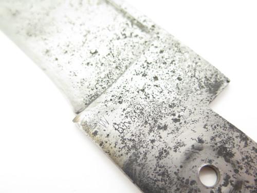 """Vintage WR Case & Sons Antique Folding Hunter Pocket Knife Blade Huge 9.5"""" Long"""