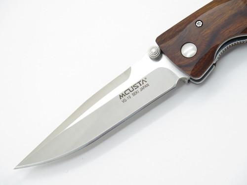 Mcusta Seki Japan Cocobolo Basic & VG-10 Linerlock Folding Pocket Knife