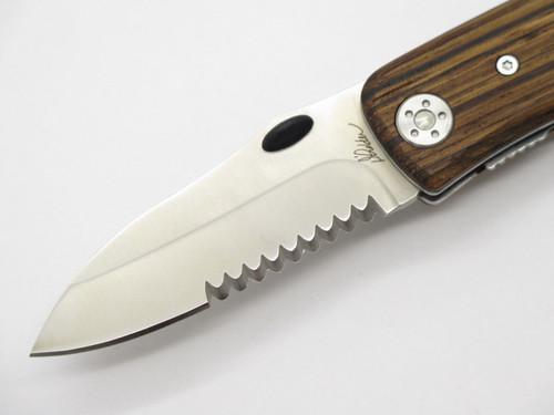 Nafc D'holder Folding Linerlock Pocket Knife North American Fishing Club