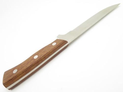 "VTG NOS HATTORI SEKI JAPAN CUSTOM 10"" FIXED BLADE HUNTING KNIFE BLACK SHEATH"