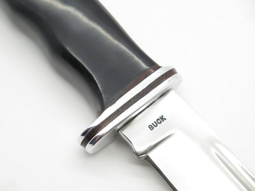 Vtg 1961 Buck 119 Special Fixed Knife 1 Liner Barrel Nut Leather Spacer & Sheath
