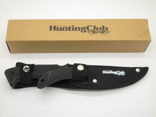 NAHC Twin Set Fixed Blade Knife North American Hunting Club Caping & Sheath Case