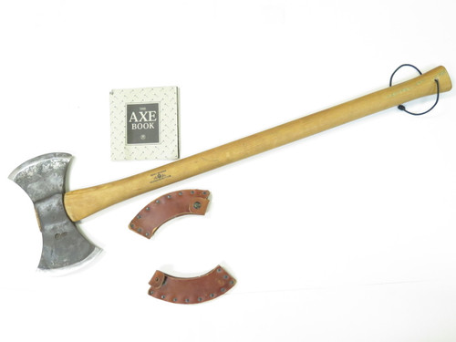 Gransfors Bruks Sweden Scandinavian 36.75 Double Bit Hatchet Working Felling Axe
