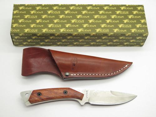 IC.Cut IC-101 Hiro Seki Japan VG-10 San Mai Damascus Fixed Blade Hunting Knife