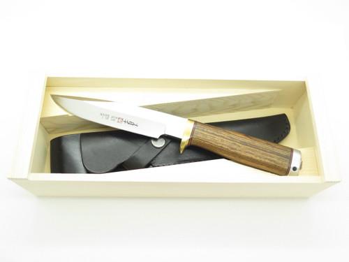Hattori Seki Japan 2018 Limited Edition Hunter AUS-8 Fixed Blade Hunting Knife
