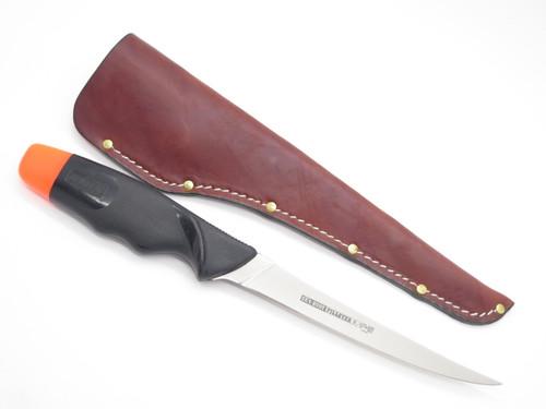 """Vtg Sea Buoy Seki Japan 6"""" AUS-8 Fixed Blade Floating Fish Fillet Tackle Knife"""