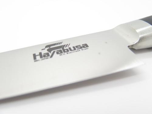 "Hayabusa Sujihiki Japanese Seki Japan 9.8"" Blade AUS8 Kitchen Cutlery Chef Knife"