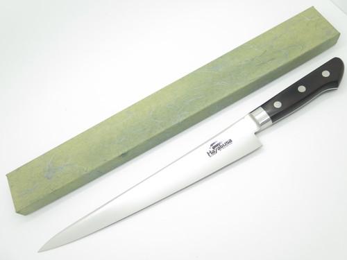 HAYABUSA SUJIHIKI JAPANESE SEKI JAPAN 10.6 BLADE AUS8 KITCHEN CUTLERY CHEF KNIFE