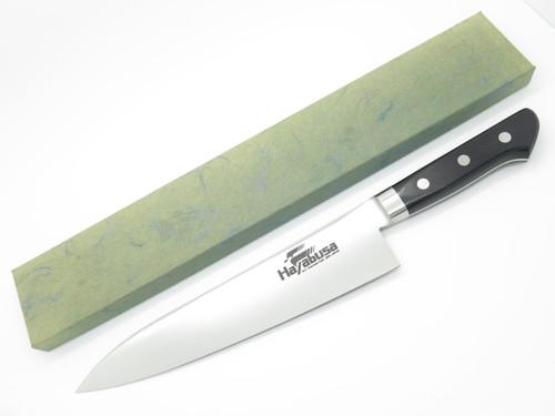 """HAYABUSA JAPANESE SEKI JAPAN GYUTO 9.37"""" AUS8 BUTCHER KITCHEN CUTLERY CHEF KNIFE"""
