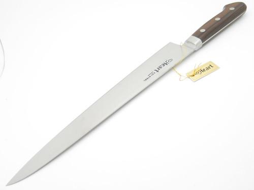 "HEART VG1 SEKI JAPAN 10.63"" SUSHI CHEF FIXED SLICER KNIFE KITCHEN CUTLERY"