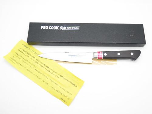 "WINSTAR PRO COOK 6 SEKI JAPAN 4.75"" 120mm AUS8 CHEF PARING KITCHEN CUTLERY KNIFE"